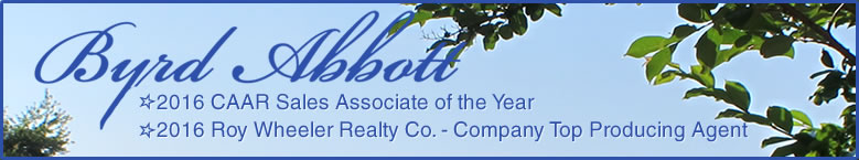 Byrd Abbott: Specializing in Charlottesville, Albemarle County, and Central Virginia Real Estate